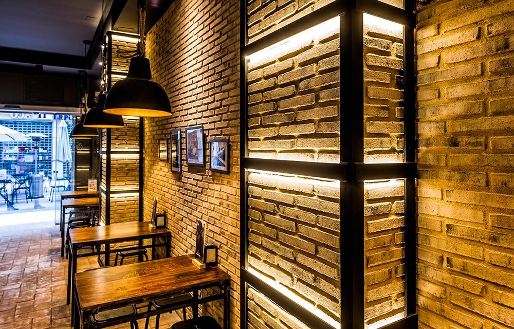 Diseño de restaurante Tintapa en Valencia por Tariq Estudio