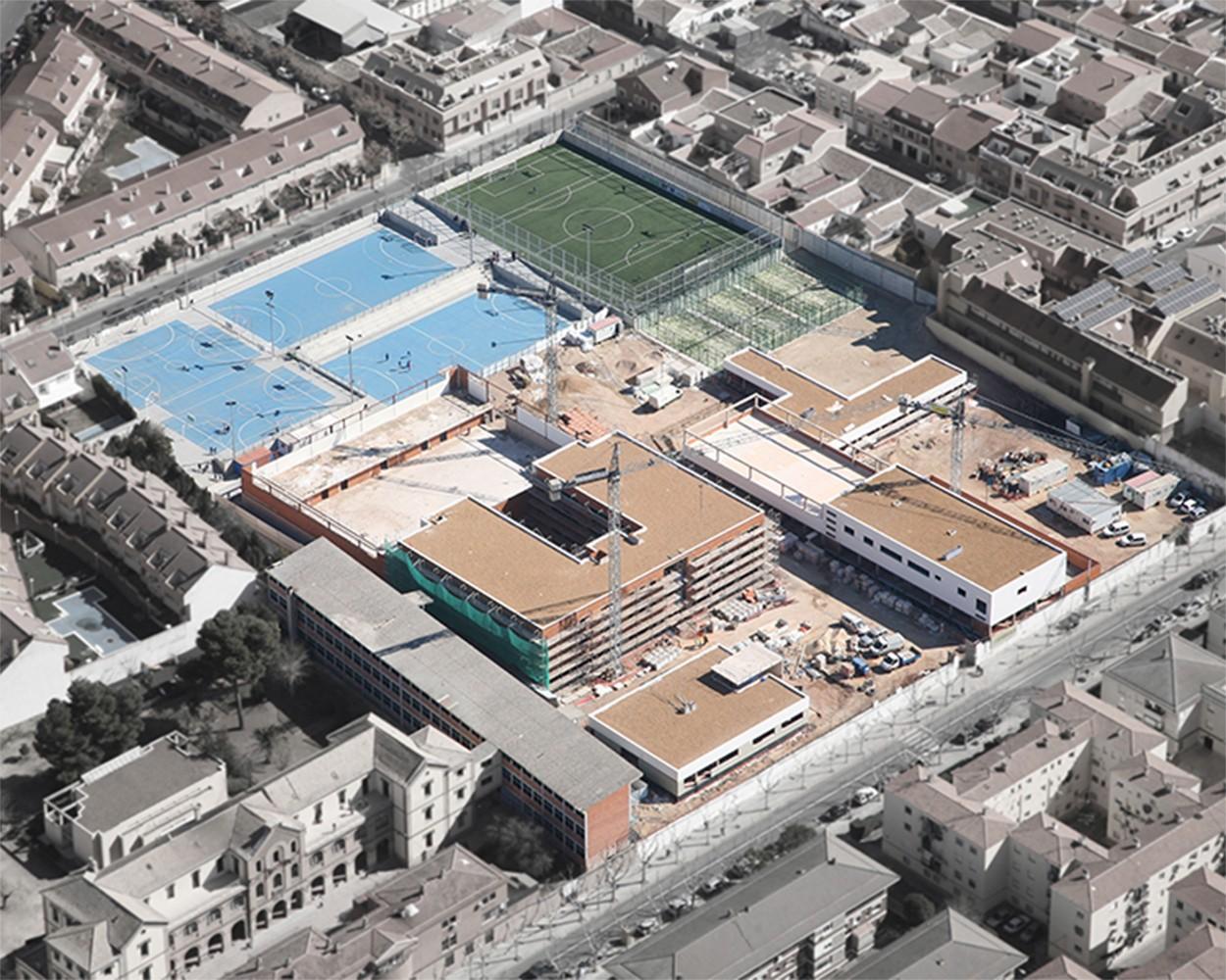 Colegio marianistas ciudad real tarazona arquitectos - Arquitectos ciudad real ...