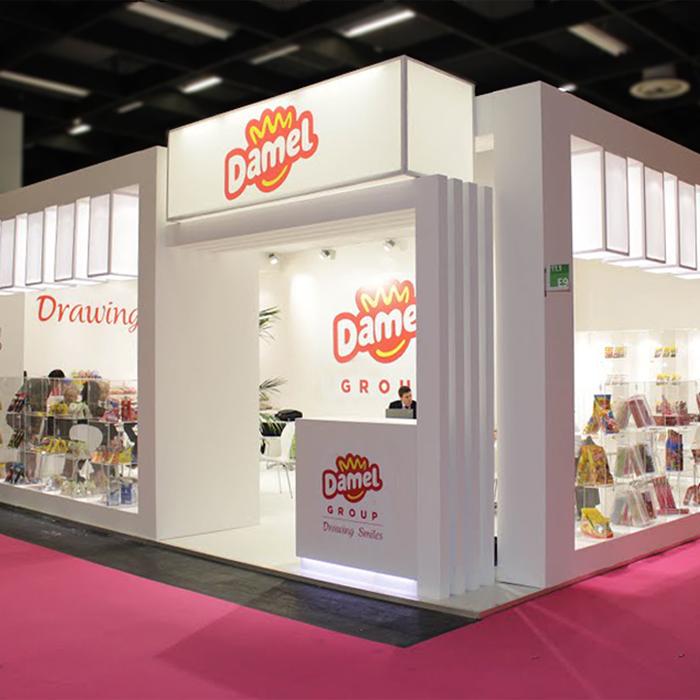 Nuevo Stand de Damel Group para la Feria ISM Colonia